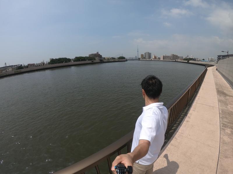 GoPro 3-Wayで自撮りした写真