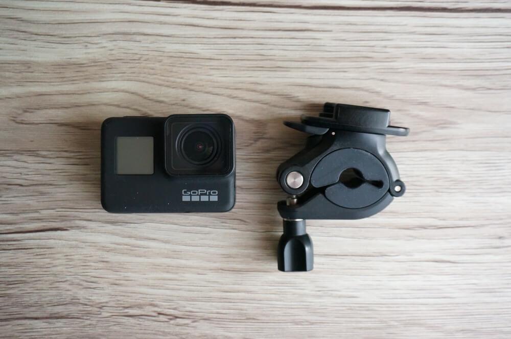 GoProとハンドルバーシートポストマウント