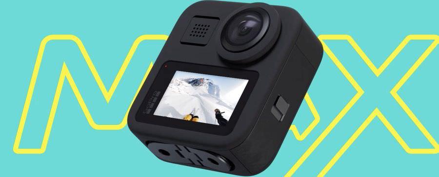 GoPro MAXのタッチディスプレイ