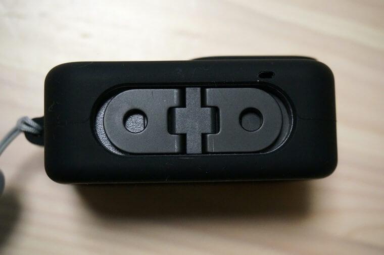 GoPro HERO8用スリーブ+ランヤードの下部部分