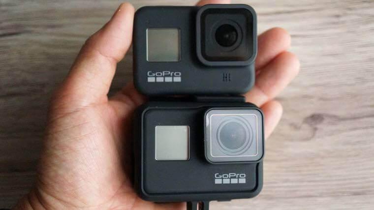 GoPro HERO8とHERO7 Black