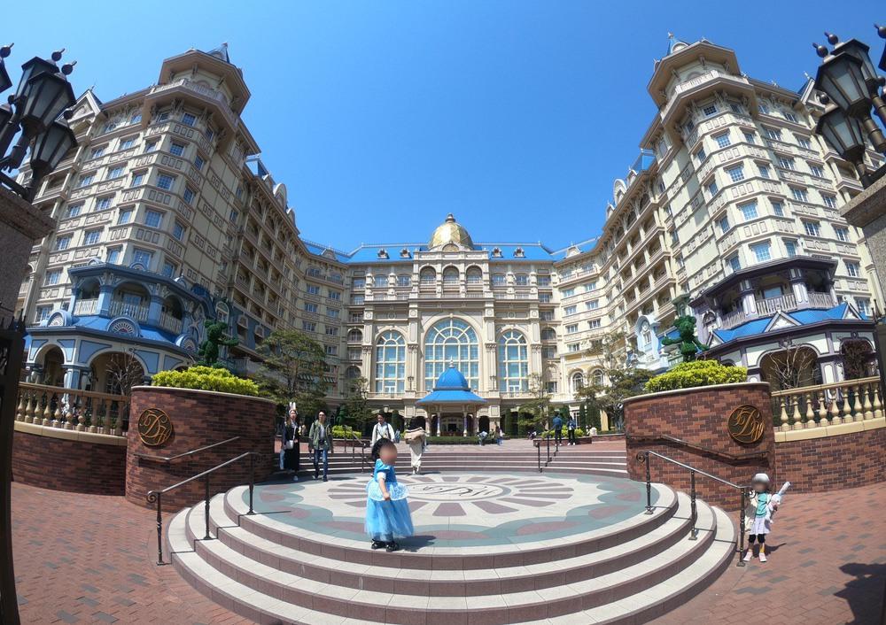 ディズニランドホテルをGoProで撮影
