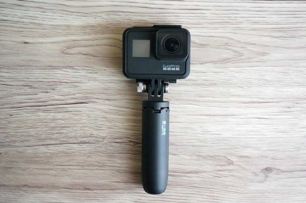 GoPro ShortyにHERO7 Blackを取り付け