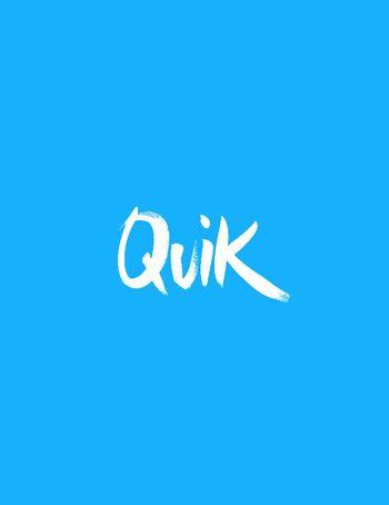 Quik Storyの作成画面