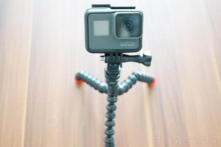 GoPro装着
