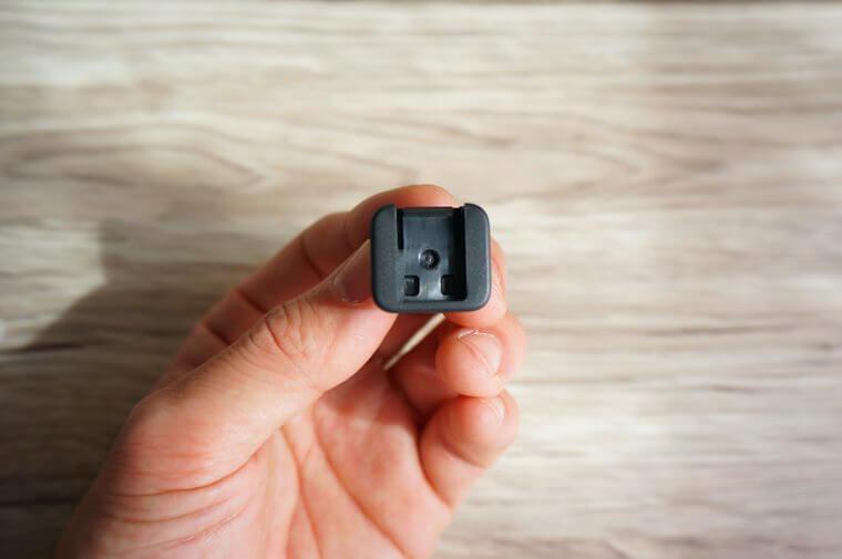 GoProライトモジュールのフィンガーアダプター