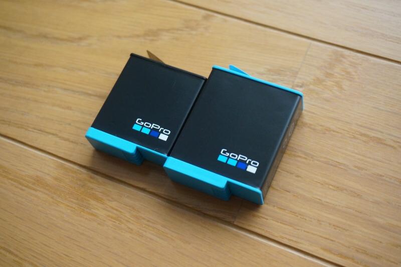 HERO9 BlackとHERO8 Blackのバッテリーを比較