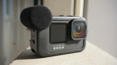 【GoPro HERO9 Black用メディアモジュラーレビュー】風防スポンジとポートカバーでより使いやすく進化