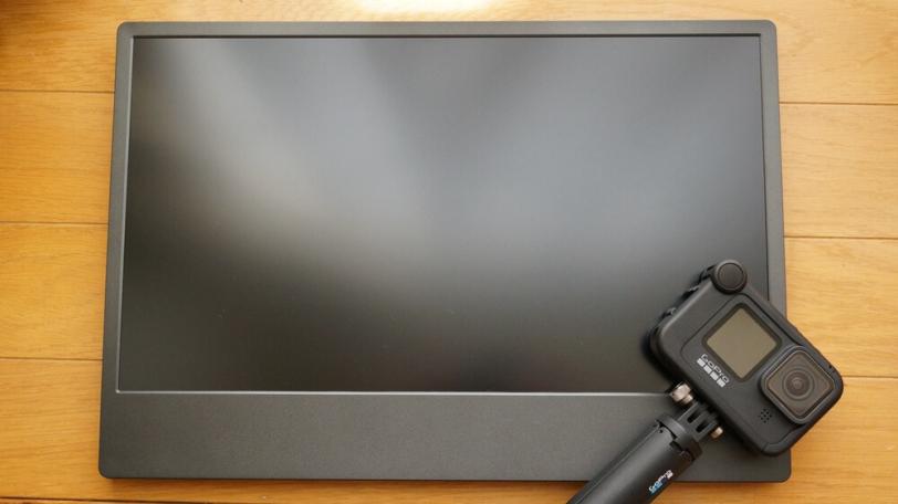 On-Lap M505EとGoPro