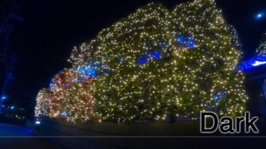 GoProで撮影したイルミネーション写真