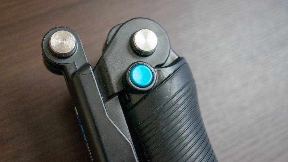 GoPro純正3-Wayのストッパーボタン