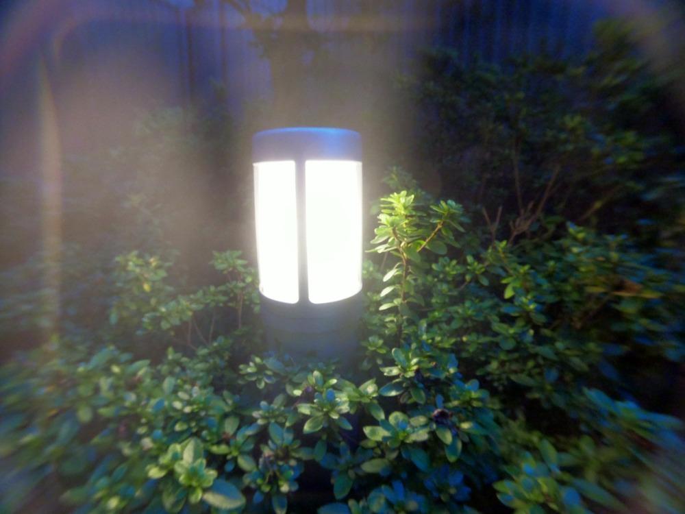 クローズアップレンズでライトを撮影
