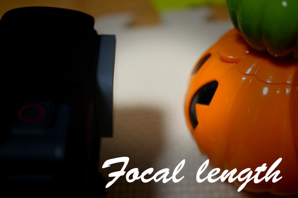 GoProの焦点距離