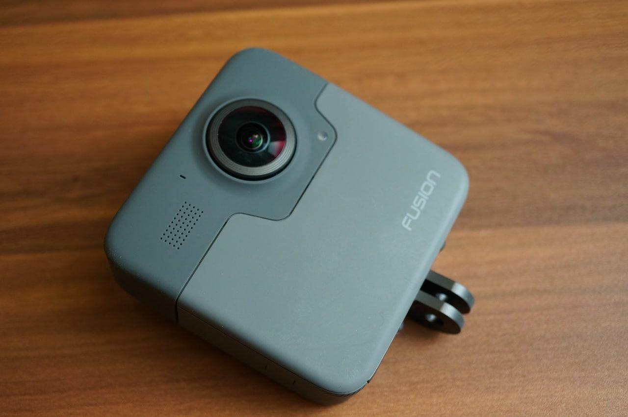 GoPro Fusionの背面側