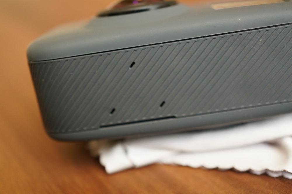 GoPro Fusionの上部にあるマイク