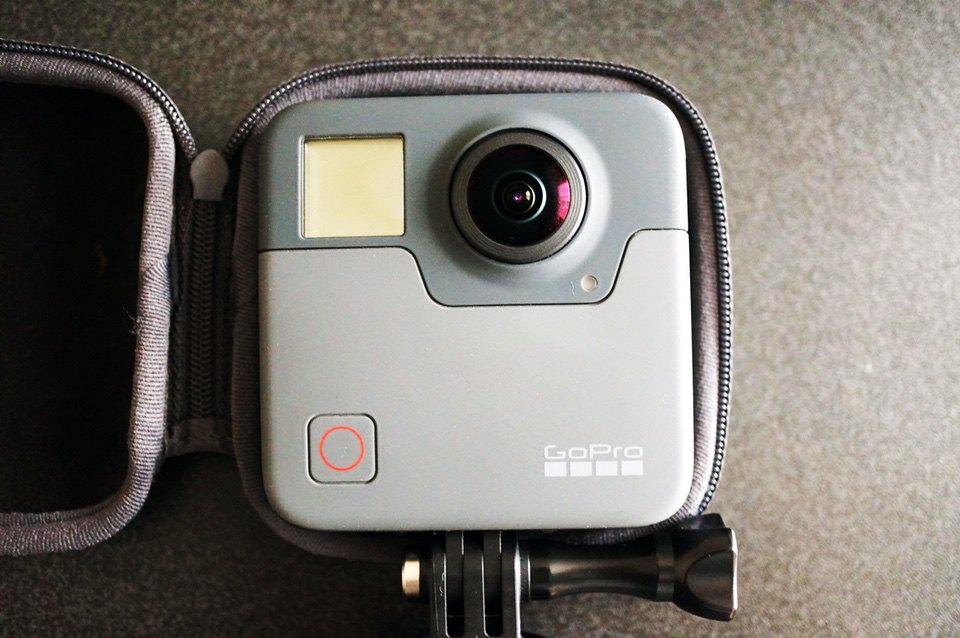 GoPro Fusion本体