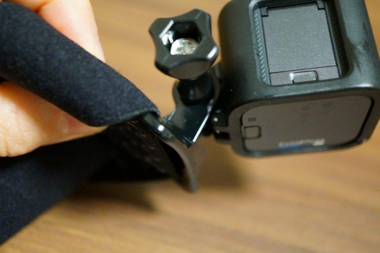 ヘッドストラップと接続部のぶつかる部分