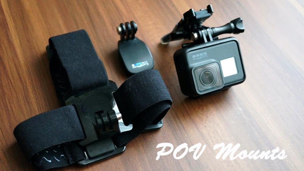 GoProにおすすめのPOVマウント