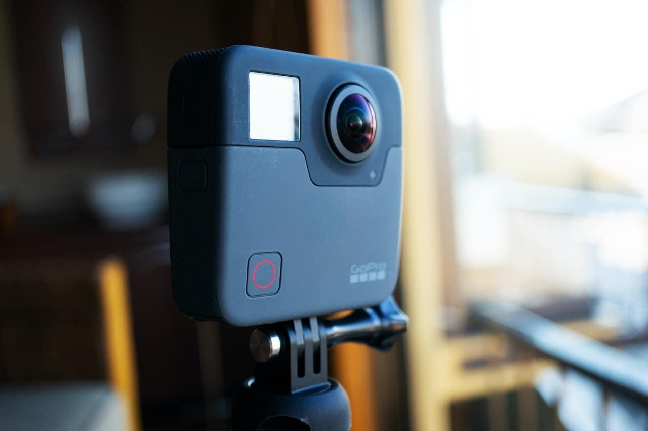 GoPro Fusionを撮影