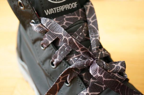 パラディウムの靴紐