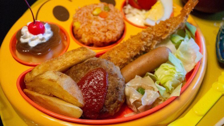 恵比寿屋の子ども用の夕食