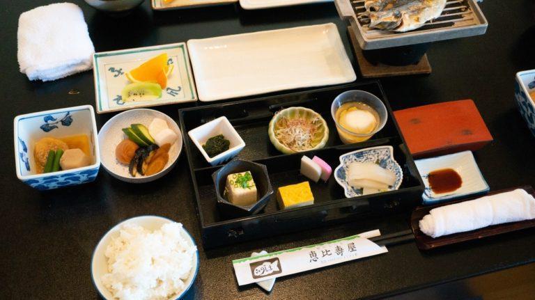 恵比寿屋の朝食