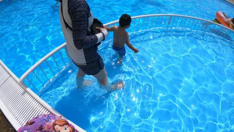 ホテル&リゾーツ南房総付属のプールの子どもエリア