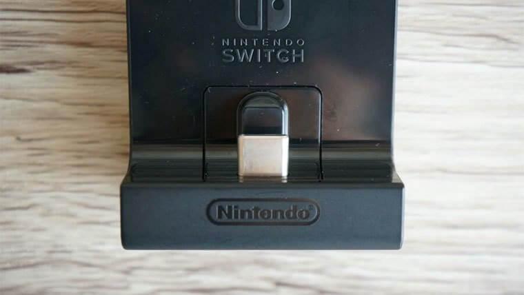 ニンテンドースイッチ充電スタンド
