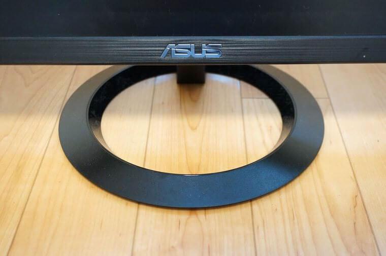 ASUS23.8インチモニター(VZ249HR)のスタンド部分