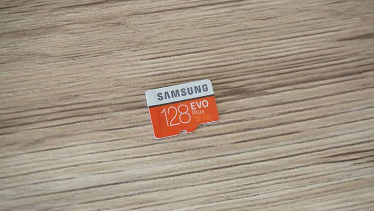スイッチで使っているSamsung のmicroSDカード