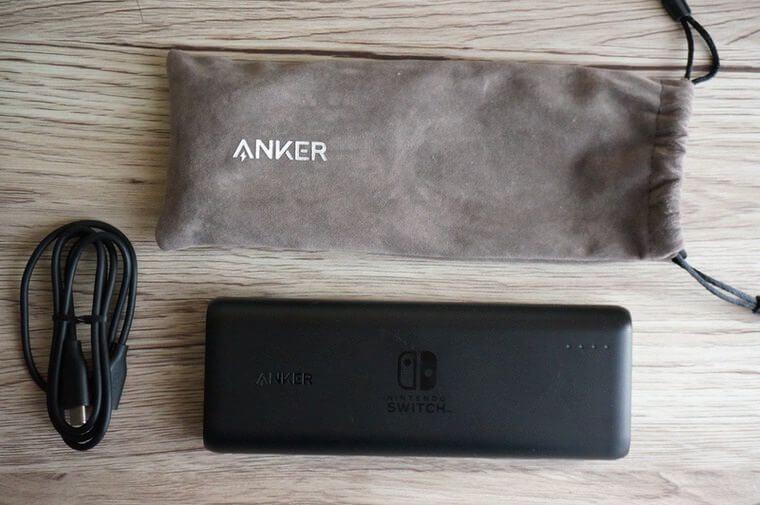 Anker PowerCore 20100 Nintendo Switch Editionのセット内容