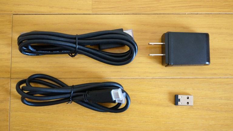 On-Lap M505Eのセット内容