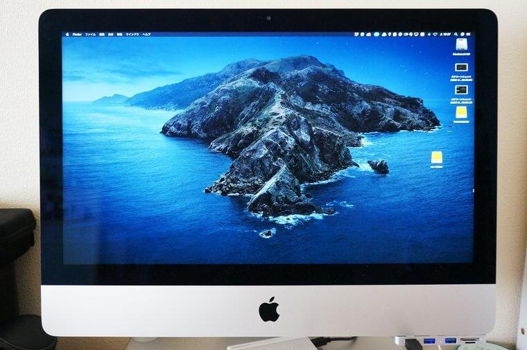 iMacのディスプレイ