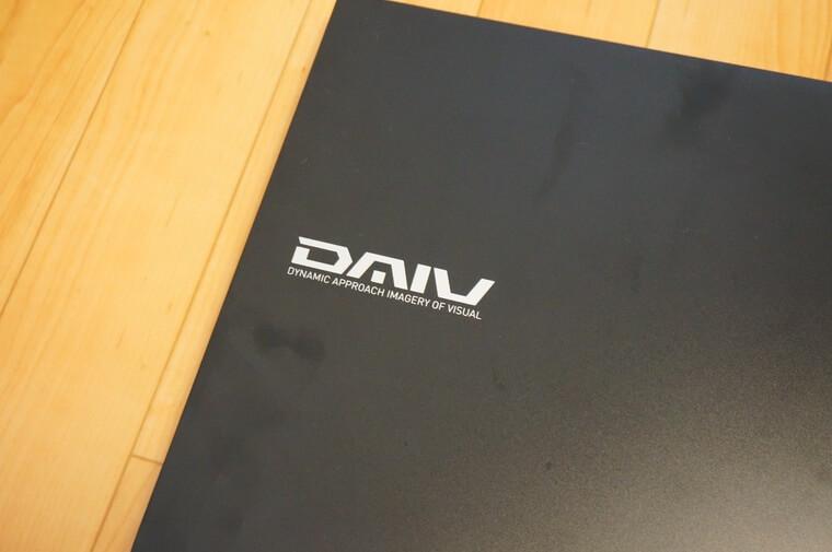 DAIV N5-OLEDの外観