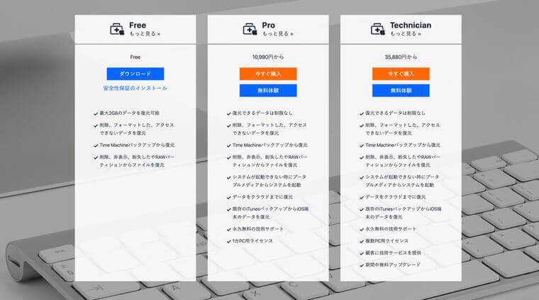 EaseUS Data Recovery Wizardの無料お試し版